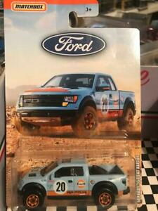 2019 MATCHBOX FORD SERIES.''10 FORD F-150 SVT RAPTOR""