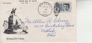 FDC #1246 KENNEDY STAMPS,ARK MAY 29 1964 CACHET OF GEN LEE 69TH ANNUAL SPA CONV.