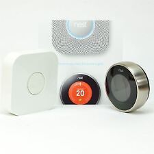 Nest Learning Thermostat 2nd Gen Manual & App Controlled Big Energy Savings