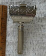 Antique Vintage Gem Cutlery Co. Junior Bar Safety Razor U.S.  Pat. 1900 1901  NY