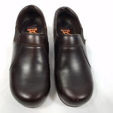 Dansko XP womens professional nurse clogs shoes size 38 brown leather