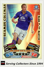2011-12 Topps Match Attax Card Man Of Match Foil 377 Seamus Coleman