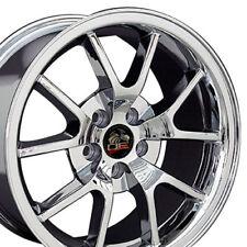 """18x9 Chrome FR500 Wheel 18"""" Rim Fits Mustang GT 94-04 V8 V6"""