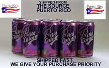 Grape Uva Soda Old Colony Puerto Rico Refresco Cold Soft Drink Beverage Food12ZZ