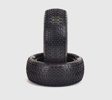 Schumacher U6861 1/10 Honeycomb 4WD Front Buggy Tire (2) Yellow