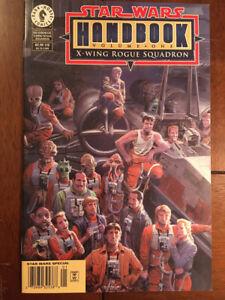 STAR WARS HANDBOOK X-WING ROGUE SQUADRON # 1 NM 1998 NEWSSTAND EDITION HTF