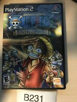 One Piece: Pirates' Carnival (Sony PlayStation 2) - PS2 - Black Label CIB Tested