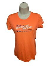 NYRR Shape Womens Half Marathon Womens Orange XS Jersey