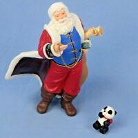 Hallmark Santa Claus with Panda Keepsake Ornament Original Box