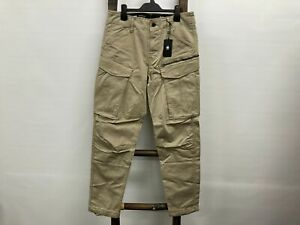 NEW G-star Raw Rovic Zip 3D Straight tapered cargo pants Mens Sz 30  RRP$180