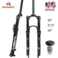 "1-1/8"" 120mm Travel Mountain Bike Suspension Fork 26/27.5/29er Disc brake Forks"