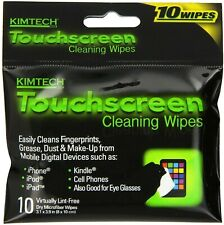 70 KimTech Touchscreen Cleaning Wipes Microfiber Great for iPhone, iPad,Glasses
