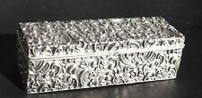 Antique British Silver Sterling BOX William Devenport