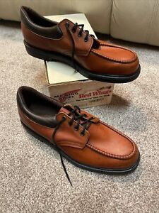 Red Wing Shoes US Made Mens Brown Leather Size 12 C