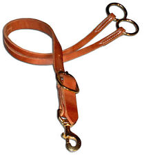 Harness leather western training fork with buckle custom quality cowboy H811