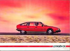 CITROEN CX Saloon Estate Familiales 1985 French Market Sales Brochure