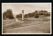 Bucks Buckinghamshire WEST WYCOMBE  from the Pedestal 1941 RP PPC by Valentine