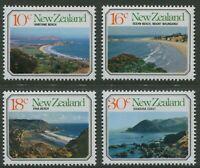 NEW ZEALAND: BEACH SCENES 1977 - MNH SET OF FOUR (B56)