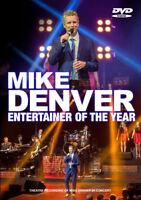 Mike Denver: Entertainer of the Year DVD (2017) Mike Denver cert E ***NEW***