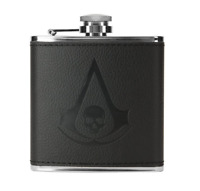 FLASK Assassins Creed IV Loot Crate Gaming Exclusive Black Flag NEW