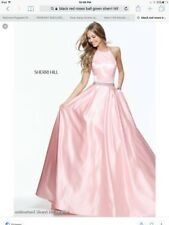 Blush Sherri Hill Prom Pageant Homecoming Dress Gown 6