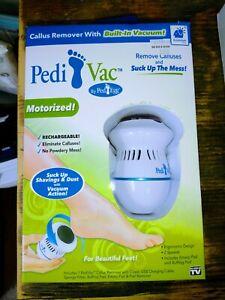 Pedi Vac Motorized Callus remover