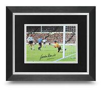 Gordon Banks Signed 10x8 Photo Display Framed England Memorabilia Autograph +COA