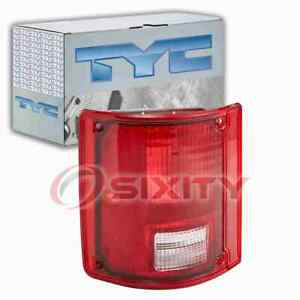 TYC Left Tail Light Assembly for 1978 GMC C35 Electrical Lighting Body cf