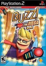 Buzz! The Mega Quiz Playstation 2 New No Buzzers