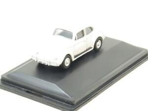 Oxford Diecast 76VWB008 VW Volkswagen Beetle Lotus White 1 76 Scale Boxed