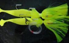 Rock Fish Candy 12oz x 8oz Mojo Tandem Parachute Rigs - Chartreuse