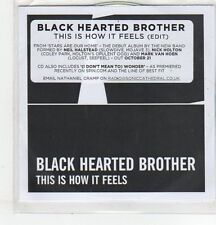(ER810) Black Hearted Brother, This Is How It Feels - DJ CD