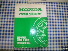 BB 67MM530Y Manual De Taller Suplemento HONDA CBR 1000 F L Ediz. 1989