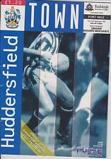 HUDDERSFIELD TOWN v PORT VALE 93-94 LEAGUE MATCH  LAST SEASON LEEDS ROAD