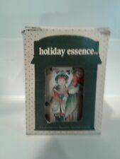 Vintage Holiday Essence Collectible Tin with Candle Jasco Nib