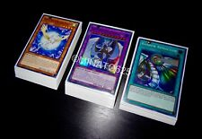 Yugioh Complete Crystal Beast Deck + Ultra Pro Sleeves! Tournament Ready! Holos!