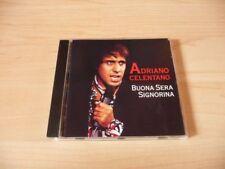 CD Adriano Celentano - Buona Sera Signorina - 1995 - 16 Songs