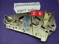 BSR C123R.B.1 Turntable Main Chassis Parts Parting Out Entire C123R.B.1Turntable