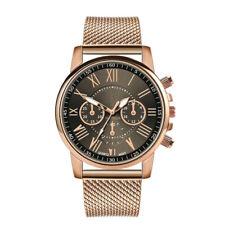 New Women Watch Stainless Steel Analog Quartz Dress Bracelet Wrist Watch JP