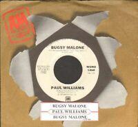 Williams, Paul - Bugsy Malone Vinyl 45 rpm record Free Shipping