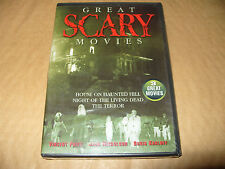 Great Scary Movies 3 Great Movies dvd 2002 New & Sealed