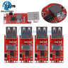 5PCS DC 12V/24V to 5V 3A USB Step Down Buck Power Supply For Car Charger Module