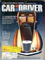 Car and Driver Magazine April 1982 Cumberford Martinique EX 021216jhe