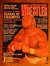 1987 WRESTLING MAGAZINE WCW WWF WRESTLER HULK HOGAN FABULOUS ONES SNUKA VINTAGE