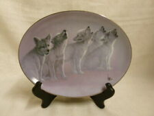 Soul Music Bradford Exchange Wolves Lee Cable Wild Bunch Limited Edition Plate