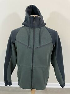 Nike Sportswear Tech Fleece Full Zip Hoodie Olive Green Men's Small