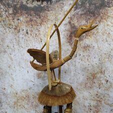 Carillón de viento Pato Natural Bambú & Coco Windchime, carillón de viento
