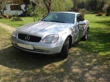 Mercedes SLK 200, Baujahr 1997, Farbe silber