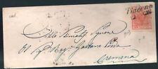 LV46 - LOMBARDO VENETO - Sassone # 5a - lettera da Piadena a Cremona - Biondi