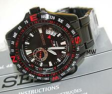 SEIKO 5 Mechanical LIMITED EDITION Men's Watch Black Red SSA113J1 made in Japan